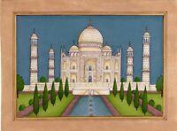 Tomb of Emperor Shahjahan and Mumtaz mahal The Taj-Mahal painting mughal art