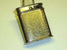 Collis VINTAGE trench art lighter with Desire-briquet-early 1900-RARE