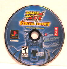 PS1 Dragon Ball GT Final Bout (Sony Playstation 1, 2004) Disc Only READ