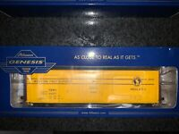 HO Scale Athearn Genesis 50 ft. PC&F Box Car Great Northern Railway #64557