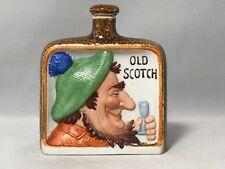 Schafer & Vater Whimsical Porcelain-Old Scotch Whiskey Flask
