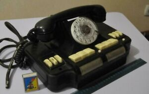 Beautiful Antique Black Large TELEPHONE DIRECTOR'S USSR Home Decoration Used