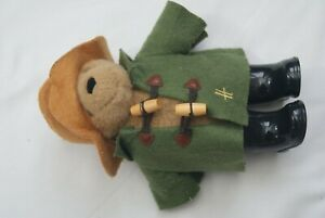 paddington bear from Harrods in good condition size 9 inches