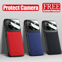For Samsung Galaxy S20 Ultra S20 Plus Leather Shockproof Slim Hybrid Case Cover