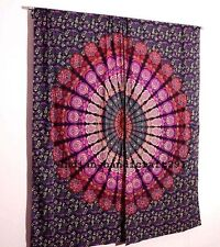 Indian Curtain Mandala Wall Tapestry Decorative Curtains Window Curtain 2 Panel
