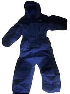 Patagonia Child's Insulated Snowsuit Blue Size 4T Excellent Condition!