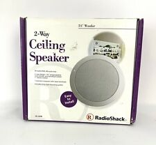 """Radio Shack 40-4096 Main / Stereo Speakers 2-way 5 1/4""""  Ceiling Speaker"""