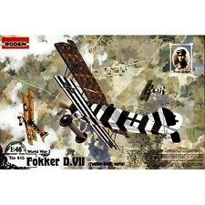 Roden 415 Fokker D VII Early 1/48 plastic scale model kit