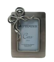 Beautiful September Picture Frame With Blue Stone By Burnes Of Boston Carr