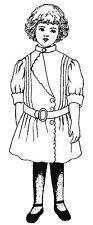 "1904 School Dress Sewing Pattern Fits 18"" American Girl Doll #41"
