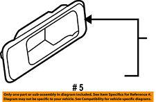 Lincoln FORD OEM 08-10 MKX Interior-Rear Door-Escutcheon Left 8A1Z7822621CA