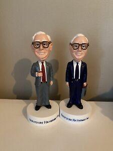 Warren Buffett & Charlie Munger Bobblehead Set, Berkshire Hathaway, Rare