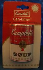 NEW CAMPBELLS SOUP CAN 60 MINUTE KITCHEN CAN-TIMER COOKING FREE SHIPPING
