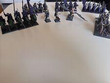 Age of Sigmar Dunkelelfen ,Darkling Covens ,Order Serpentis, Armee gebraucht