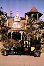 The Munsters 24X36 Poster classic car outside mansion tv cult