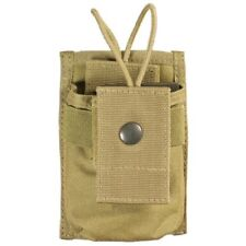 Bulle Tan MOLLE Webbing Tactical Small Radio Pouch Open Top