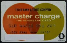 VINTAGE MASTER CHARGE CREDIT CARD – BANK & TRUST - TYLER, TEXAS, 1982 MASTERCARD