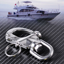 New Stainless Steel Marine Boat Swivel Bail Snap Shackle S-Ring Buckle Hardware