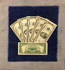 $5 Silver Certificate Note Blue Seal Old Money Rare Bill Lot 1953FREE SHIP