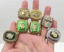 7 Pcs Edmonton Eskimos Grey Cup Championship Ring Great Gift !!