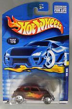 Hot Wheels 1:64 Scale 2002 Series VW BUG (BROWN FLAMES)