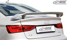 RDX Heckspoiler AUDI A3 8VS Limousine / 8V7 Cabrio Heck Flügel Spoiler hinten