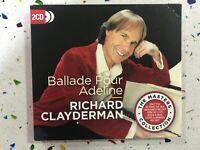 RICHARD CLAYDERMAN 2 x CD BALLADE POUR ADELINE - DIGIPACK