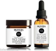 Sparset: Oliveda Anti Aging Gesichtsserum (30ml) + 24h Gesichtscreme (30ml)