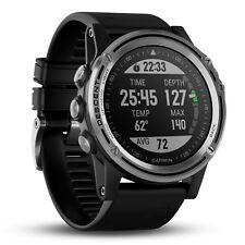 Garmin Descent MK1 Versatile GPS Dive Computer Silver w/ Black Band