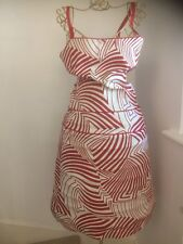 LADIES ts DESIGN DRESS - STRIPED -SIZE 10D