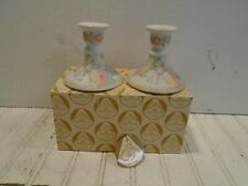 Lefton Christopher Collection Nativity Candle Stick Holders New in Box 1982