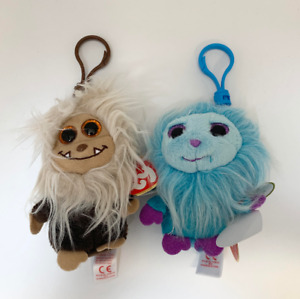 2 TY Frizzys Collection Zinger & Mops Collectible Plush Toy