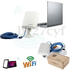 150Mbps USB Wireless WiFi Adapter Antenna 5M Cable Long Range Outdoor Waterproof
