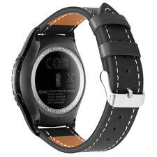 For Samsung Galaxy Watch 42mm/Gear S2 Classic Leather Bracelet Strap Wrist Bands