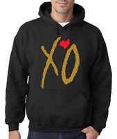 New Way 188 - Hoodie Hooded Sweatshirt The Weeknd XO Gold Letters
