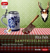 RITA FALK - DAMPFNUDELBLUES  MP3 CD NEU