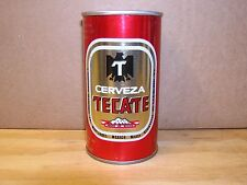 CERVEZA TECATE - S/S - W/S - BOTTOM OPENED.