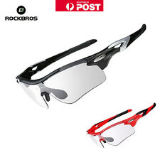 Rockbros Bicycle Photochromatic Glasses Bike Polarized Cycling Sunglasses 4Style