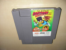 Simpsons Bartman meets Radioactive Man NES Spiel nur das Modul
