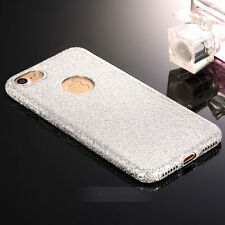 Bling Glitter Sparkle Rubber Soft TPU Silicone Case Cover For iPhone 7 7 Plus 7+