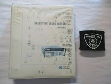 Hewlett Packard Hp 3586abc Selective Level Meter 03586 90011 Operating Manual
