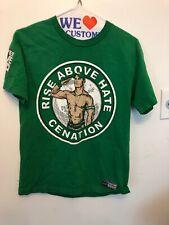 Vintage T-Shirt MENS Size Small WWE Rise Above Hate Cenation John Cena