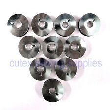 10 Metal Bobbins #10079 For Pfaff 145, 146, 191, 242, 445 Sewing Machines
