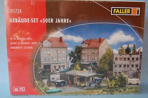 """Faller 191724 Gebäude-Set """"50er Jahre"""" H0"""