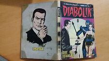DIABOLIK anno VII n.1  Ore di terrore  ORIGINALE  Sodip 1968