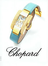 Publicité Advertising 088   2002   montre Chopard femme