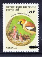 BENIN 2000 Michel 1235 1995 40fr Birds - surcharge 135fr - u/m cat 200 euros