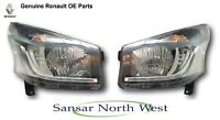 New Genuine Renault Trafic III - LED DRL Performance Headlamp's Headlight's Pair