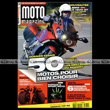 MOTO MAGAZINE N°276 BMW K1600 GT GTL HONDA 600 HORNET CBR 250 DUCATI 1200 DIAVEL