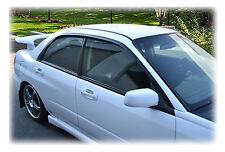 Set of 2 Subaru Impreza & WRX SEDAN 02-07 Window Rain Guards: Japanese WV-02I-JP